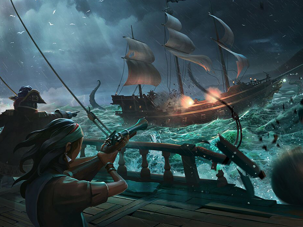 Sea of Thieves, concept art by Microsoft Rare